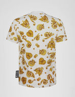 Picture of Versace Jewel Baroque White Tee