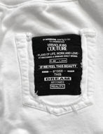 Picture of Versace Jeans Couture White Dream Sweatpants