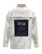 Picture of Versace Jeans Couture White Logo Oversize Shirt