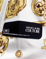 Picture of Versace White & Gold Jewel Baroque Sweat Jacket