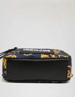 Picture of Versace Navy & Gold Baroque Bum Bag