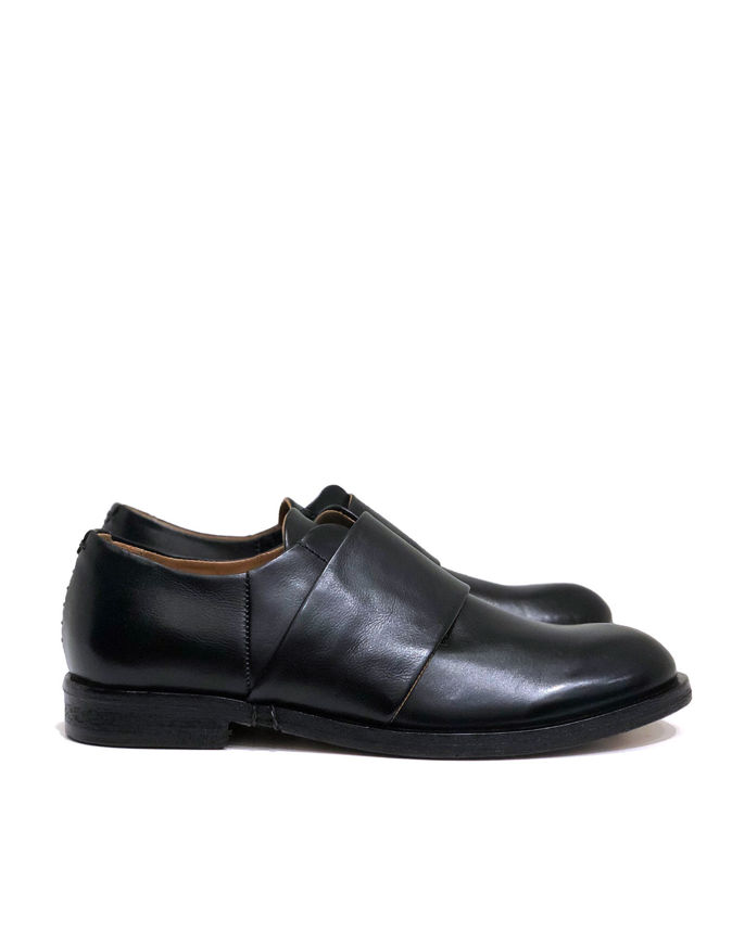 Picture of A.S.98 Italian Hand Made Slip-on Black Shoes