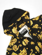Picture of Versace Black & Gold Jewel Baroque Sweat Jacket