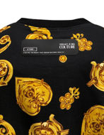 Picture of Versace Black & Gold Jewel Baroque Sweat