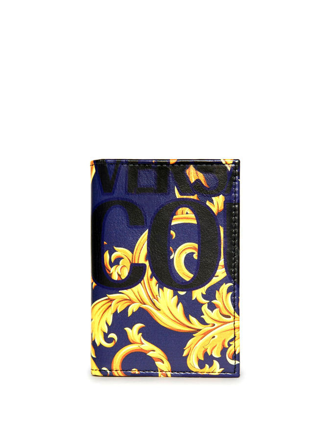 Picture of Versace Baroque Bi-fold Wallet