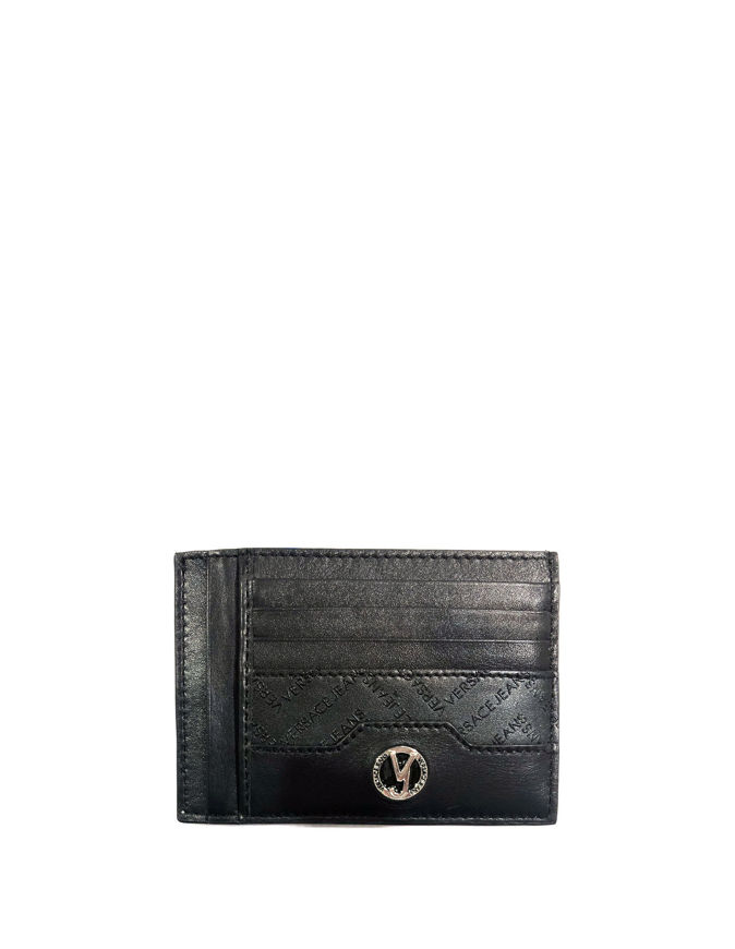 Picture of Versace Jeans Contrast Nappa Card Wallet