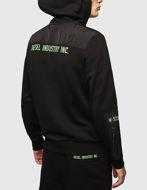 Picture of Diesel Diex Hood Black Sweat Jacket