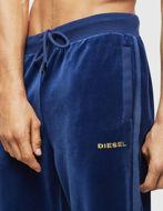 Picture of Diesel Tape Velvet Blue Sweat Pant