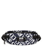 Picture of Versace Jeans Couture Lettering Bum Bag
