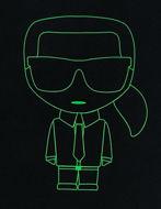 Picture of Karl Lagerfeld Ikonic Neon Black Tee