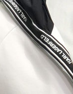 Picture of Karl Lagerfeld Zip Ikonik Hood Sweat Jacket
