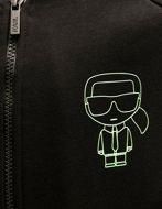 Picture of Karl Lagerfeld Ikonik Neon Sweat Jacket