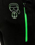 Picture of Karl Lagerfeld Ikonik Neon Sweatpant