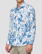 Picture of Replay Floral Print L/S Shirt