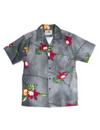 Picture of Replay Floral Print  S/S Shirt