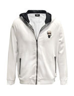 Picture of Karl Lagerfeld Zip Ikonik Hood Sweat Jacket