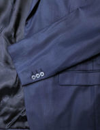 Picture of Versace Blue Polished Trend Fit Suit