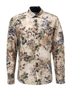 Picture of Pearly King Floral Print Taupe Shirt