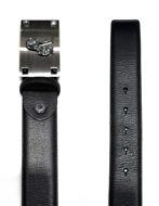 Picture of Versace Jeans Gunmetal Italian Belt