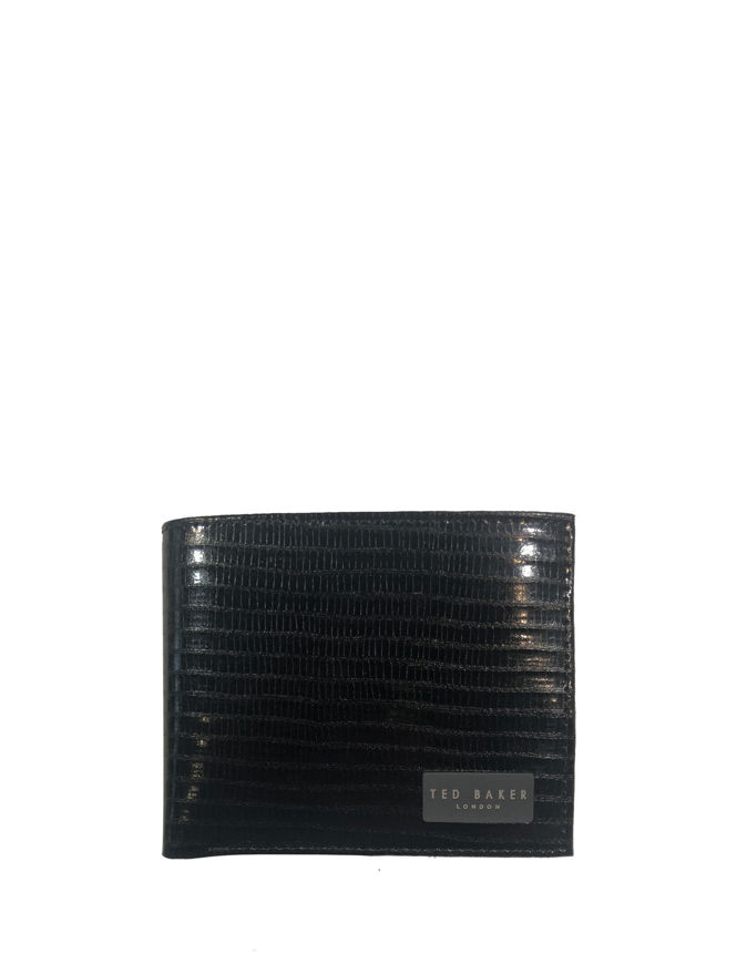 Picture of Ted Baker Bovine Leather Black Wallet