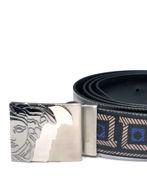 Picture of Versace Reversible Greek Key Pattern Belt