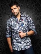 Picture of Au Noir Elmondo Monochrome Shirt