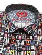 Picture of Au Noir Portas Cotton Multi Shirt