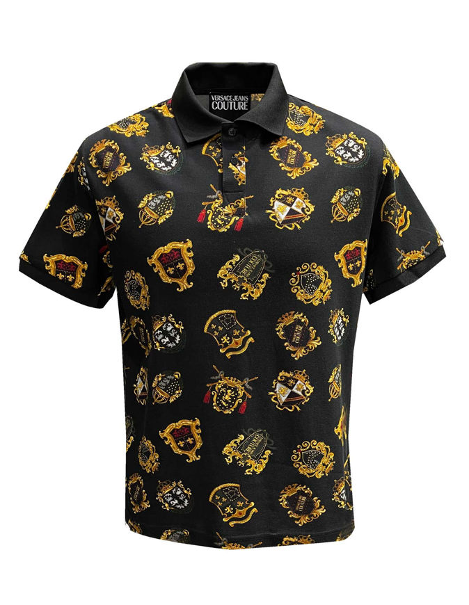 Picture of Versace Jeans Couture Shield Blocks Reg Polo