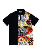 Picture of Versace Paisley Fantasy Print Reg Polo