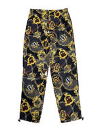 Picture of Versace Chains & Shields Camo Trackpants