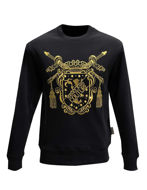 Picture of Versace Shield Embroidered Sweatshirt