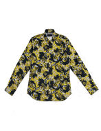 Picture of Versace Barocco Print Black Shirt