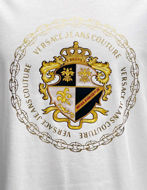 Picture of Versace Shield Emblem White Reg Tee