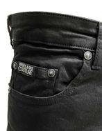 Picture of Versace London Logo Patch Black Denim