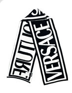 Picture of Versace Jeans Couture B&W Scarf