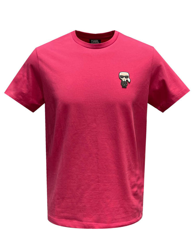 Picture of Karl Lagerfeld Ikonik Pink Tee