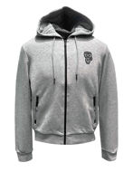 Picture of Karl Lagerfeld Grey Ikonik Hood Sweat Jacket