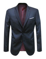 Picture of Reporter Navy 120's Easyfit Suit