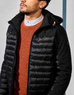 Picture of No Excess Water-proof Black Hood Padded Jacket