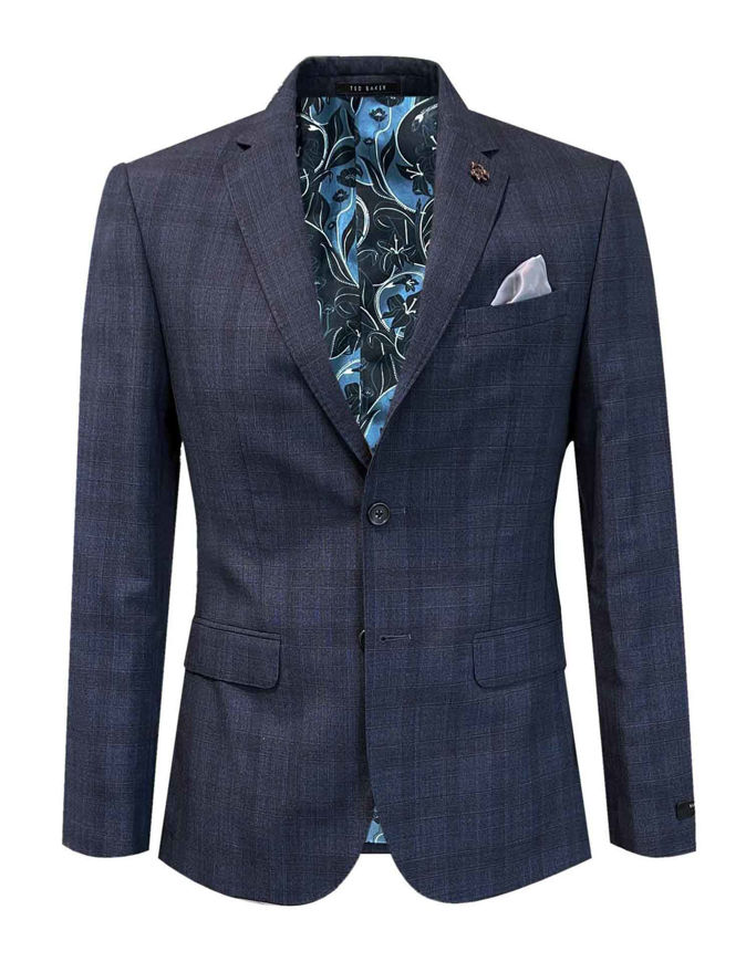 Picture of Ted Baker Navy Pow Check London Suit