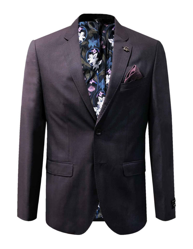 Picture of Ted Baker Textured Purple London Suit