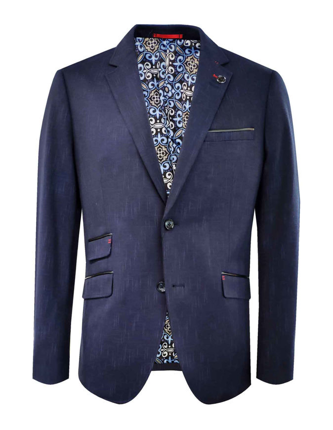 Picture of Au Noir Stretch Navy Russel Jacket