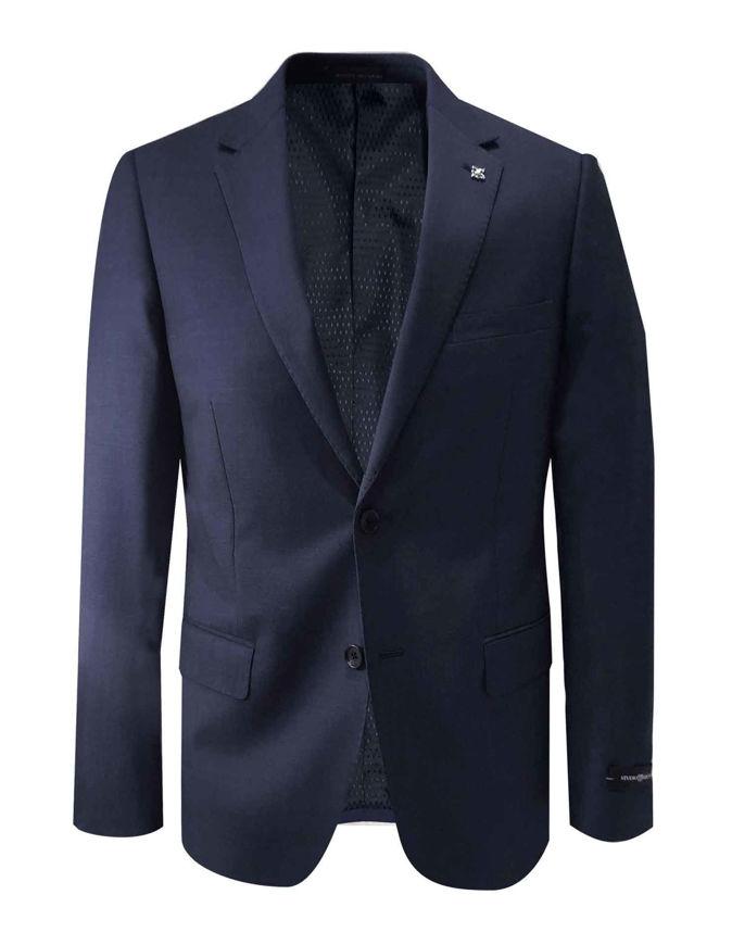 Picture of Studio Italia Navy Stretch Suit