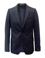 Picture of Lagerfeld Navy Shadow Mesh Suit