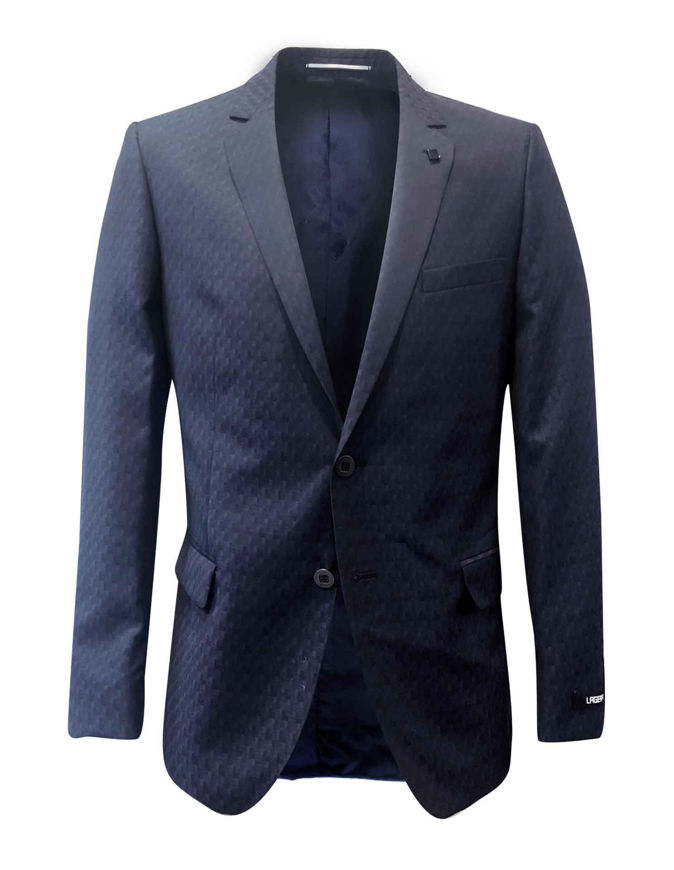 Picture of Lagerfeld Navy Square Check Suit