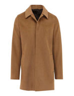 Picture of Studio Italia SB Wool & Cashmere Camel Overcoat