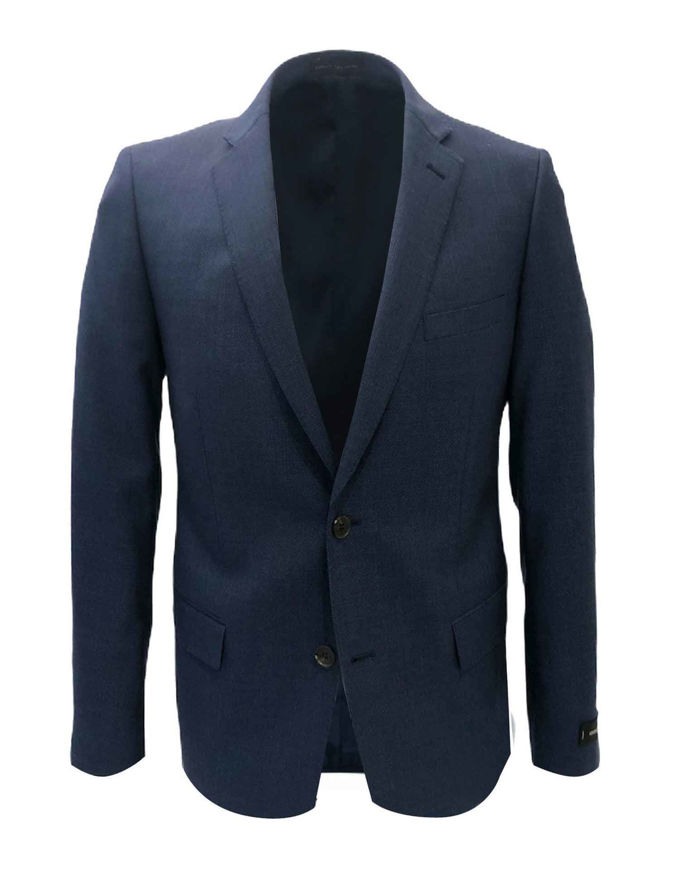 Picture of Studio Italia Navy Blue Wool Blazer