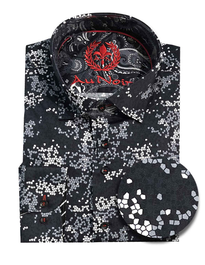 Picture of Au Noir Odysee Black Shirt