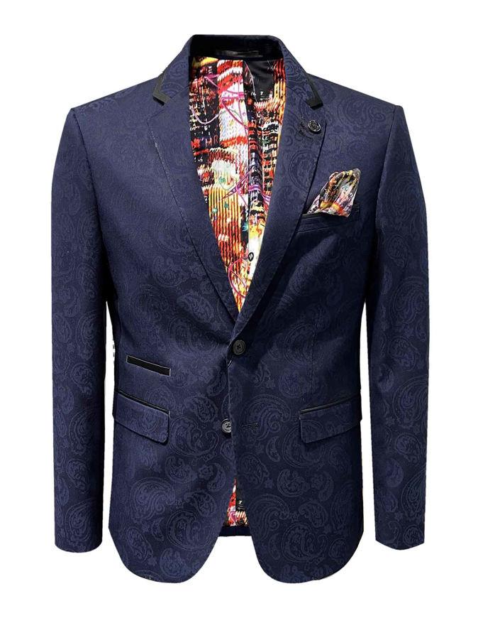 Picture of Au Noir Pratt Paisley Jacket