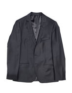 Picture of Karl Lagerfeld Dark Navy Polished Stretch Suit